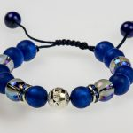 Bergketten   Damen Armband   königsblau   @ Bergspitzlerin