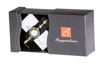 Uhr Armband Ebenholz-braun @ Bergspitzlerin Tirol