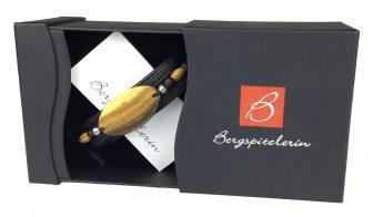 Armband mit Goldregen-Holz | Onlineshop von Bergspitzlerin